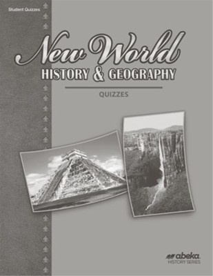 New World History and Geography (Grade 6) Quiz Book (Unbound Edition)  -