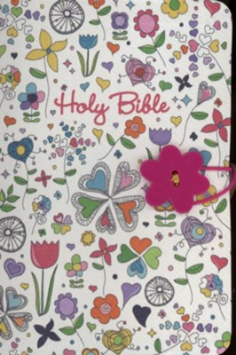 NKJV Button Bible, Fabric Cover   -