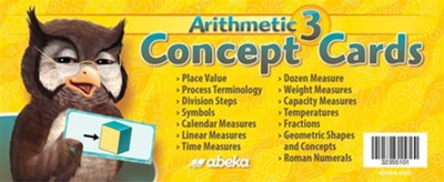Arithmetic 3 Concept Cards   -