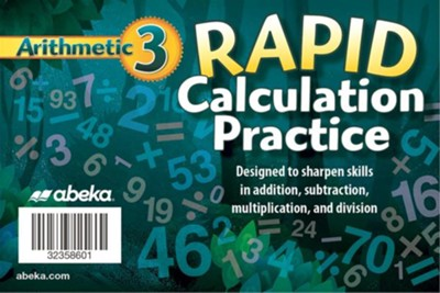 Arithmetic 3 Rapid Calculation Practice   -
