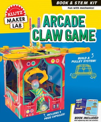 Arcade Claw Game Book and Maker Kit  -