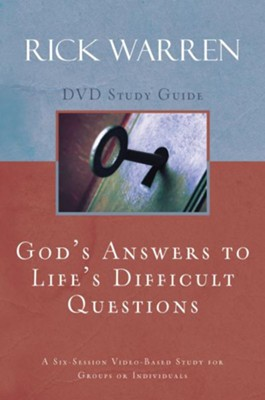 God's Answers to Life's Difficult Questions, Study Guide  -     By: Rick Warren