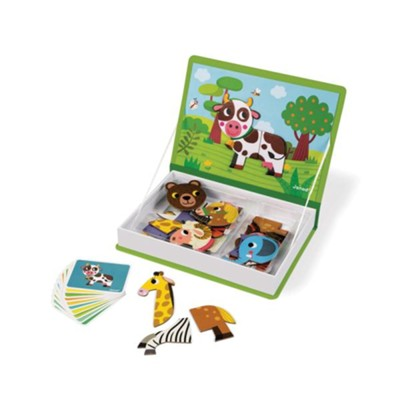 Animals Magnet Book Game  -