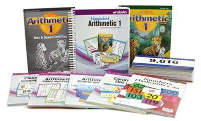 Abeka Grade 1 Homeschool Parent Arithmetic Kit   -