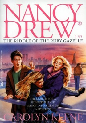 The Riddle of the Ruby Gazelle - eBook  -     By: Carolyn Keene