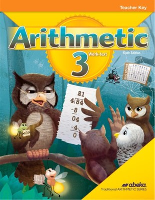 Abeka Arithmetic 3 Teacher Key, 6th Edition (2019 Revision)    -