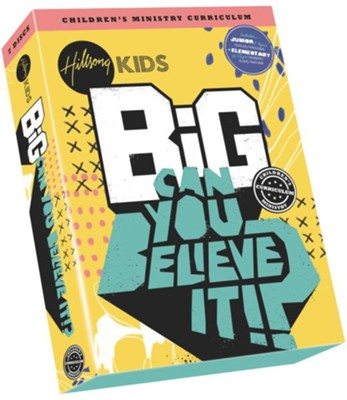 Can You Believe It? Big Children's Ministry Curriculum, Season 3  -