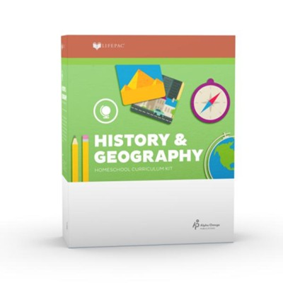 LIFEPAC History & Geography, Grade 2 Complete Set (2017 Updated Edition)  -
