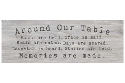 Around Our Table Tabletop Decor  -