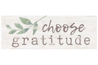 Choose Gratitude Tabletop Decor  -