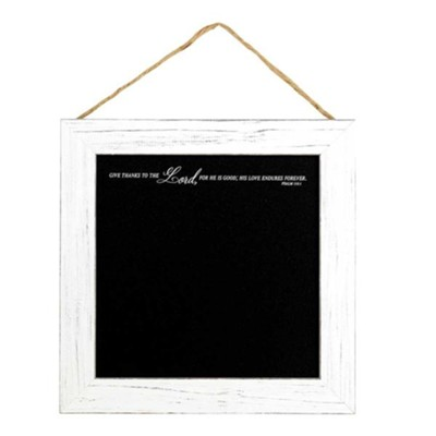 Give Thanks to the Lord Framed Chalkboard  -