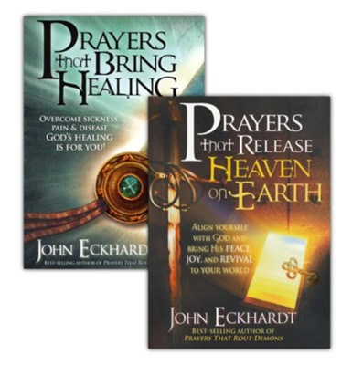 John Eckhardt Prayer Collection, 2 Volumes   -
