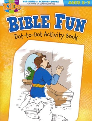 Bible Fun Dot-to-Dots Activity Book (ages 5-7)  -