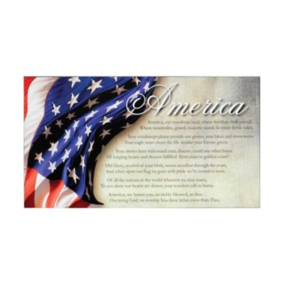 America Wall Plaque  -