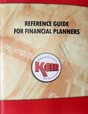 Reference Guide for Financial Planners 2012: Financial Planners Desk Reference 2012 - eBook  -     By: John Keir