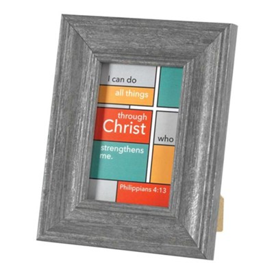 I Can Do All Things Through Christ Framed Art  -