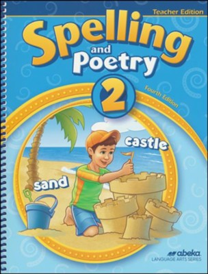 Spelling and Poetry 2 Teacher Edition (3rd Edition)   -