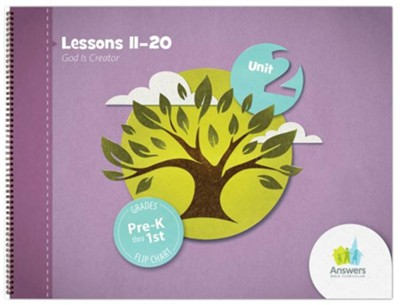 Answers Bible Curriculum PreK-1 Unit 2 Flip Chart (2nd Edition)  -