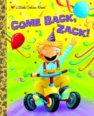 Come Back, Zack! - eBook  -     By: Trish Holland