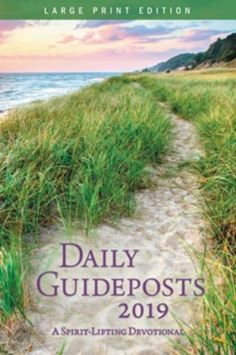 2019 Daily Guideposts, Large Print  -