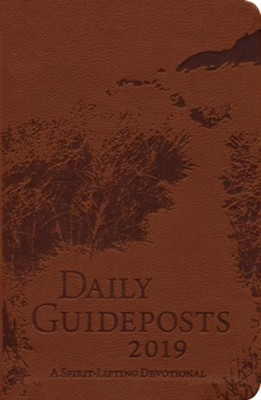 2019 Daily Guideposts, Leather Edition  -