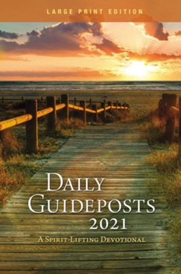 2021 Daily Guideposts, Large-Print  -     By: Guideposts