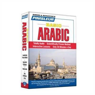 Basic Arabic:Totally Audio Compact Disc    -     Edited By: Pimsleur     By: Pimsleur
