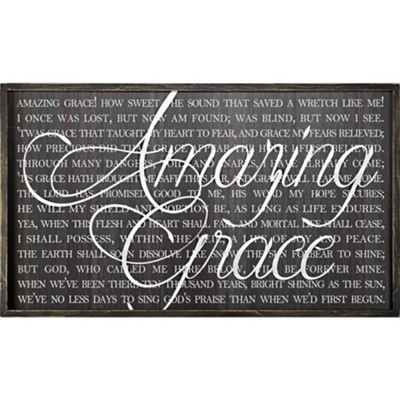 Amazing Grace Wall Art  -