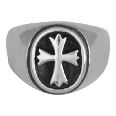 VictoRing Men's Cross Ring, Size 8  -