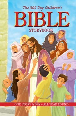 The 365 Day Children's Bible Storybook - eBook  -