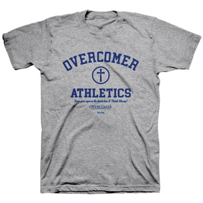 Athletics Overcomer Shirt, Medium   -