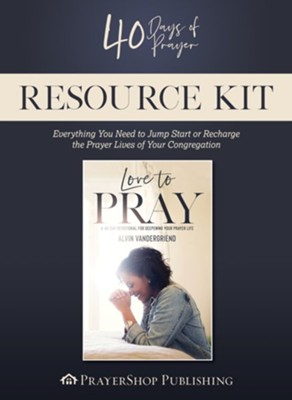 40 Days of Prayer Resource Kit, DVD Curriculum   -