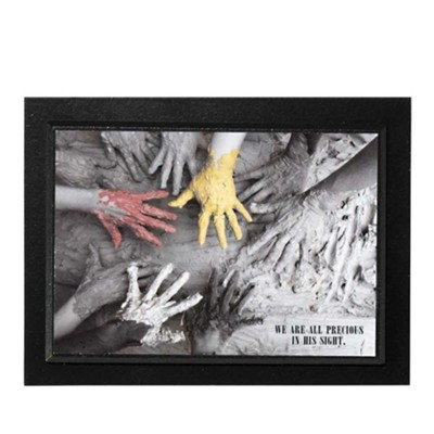 We Are All Precious in His Sight Plaque  -