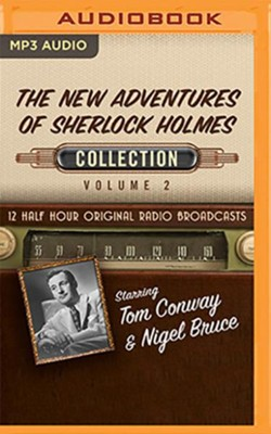 The New Adventures of Sherlock Holmes, Collection 2 - 12 Half-Hour Radio Broadcasts on Radio Broadcasts MP3-CD  -