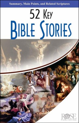 52 Key Bible Stories Pamphlet - 5 Pack  -