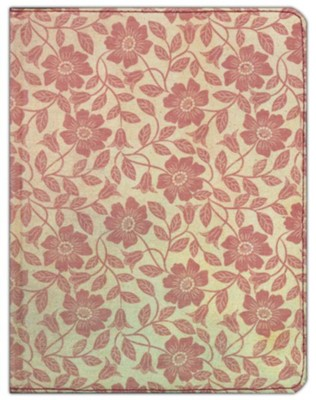 HCSB Notetaking Bille, Red Floral Fabric  -