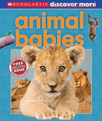 Scholastic Discover More: Animal Babies  -     By: Andrea Pinnington