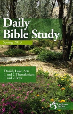 Daily Bible Study Spring 2013 - eBook  -     By: Wayne G. Reece