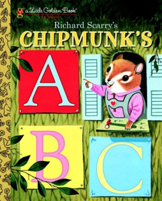 Richard Scarry's Chipmunk's ABC - eBook  -     By: Roberta Miller