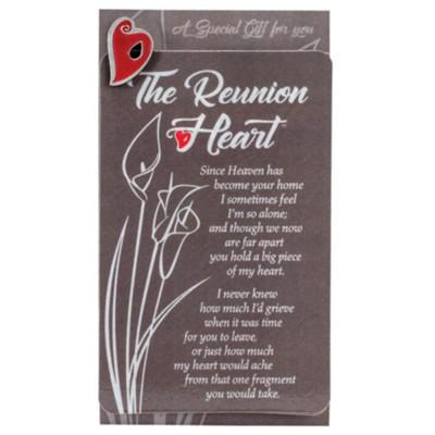 Reunion Heart Pin