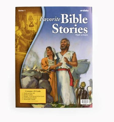 Favorite Bible Stories 1 Flash-a-Card    -