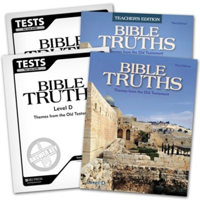 BJU Press Bible Truths Level D (Grade 10) Homeschool Kit (Third Edition)  -