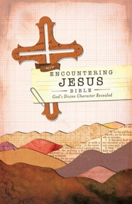 NIV Encountering Jesus Bible: Jesus Revealed Throughout the Bible / Special edition - eBook  -