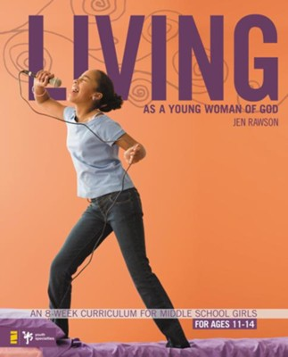 Living as a Young Woman of God - eBook  -     By: Jen Rawson