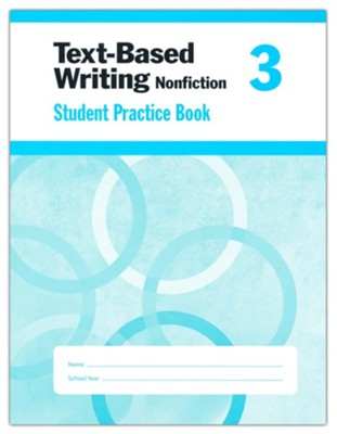 Text-Based Writing, Grade 3 Student Workbook   -