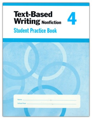 Text-Based Writing, Grade 4 Student Workbook   -