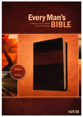 NIV Every Man's Bible Heritage Edition, Tutone Leatherlike  -     Edited By: Dean Merrill     By: Stephen Arterburn