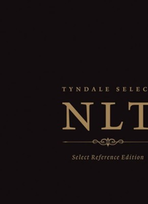 NLT: Select Reference Edition Calfskin Black  -