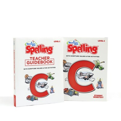 A Reason for Spelling Level C Student Worktext & Teacher  Guidebook Set (2nd Edition)  -
