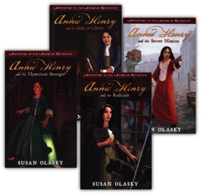Adventures in the American Revolution Series, Volumes 1-4  -     By: Susan Olasky